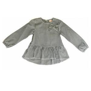 Карирана риза за момиче