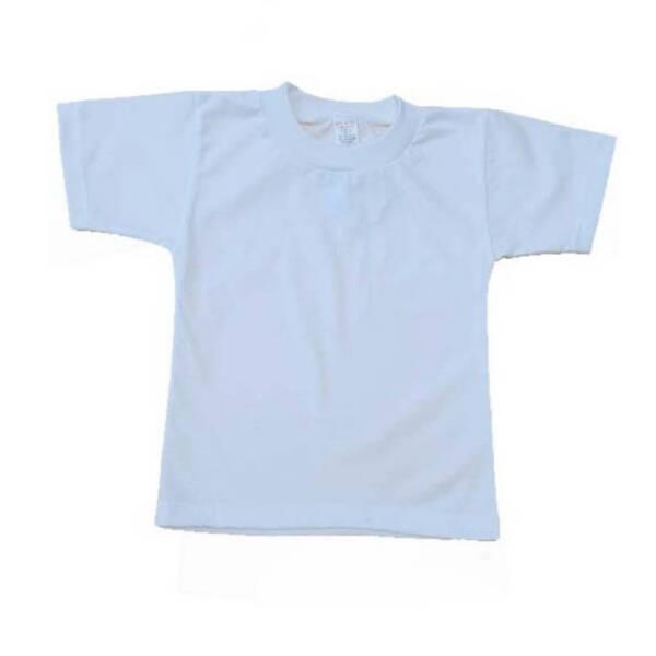 Бяла тениска за физкултура