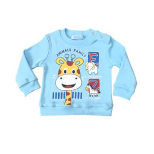 Блуза за малки момчета Жираф