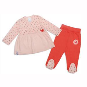 Бебешки комплект за момиче с ританки
