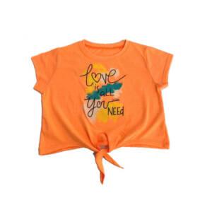 Детска къса тениска за момиче