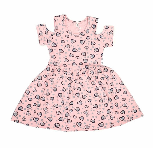Детска рокля с къс ръкав