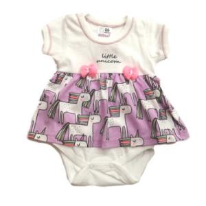 Бебешка боди-рокля Еднорози